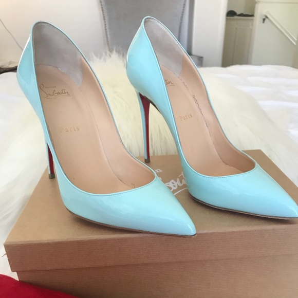 ae66fb89e57 Pigalle Follies 100 Tiffany Blue Louboutins